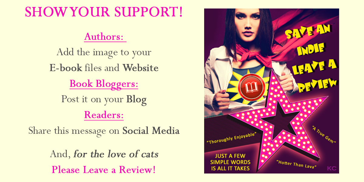 Save Indie Authors, Leave a Review!
