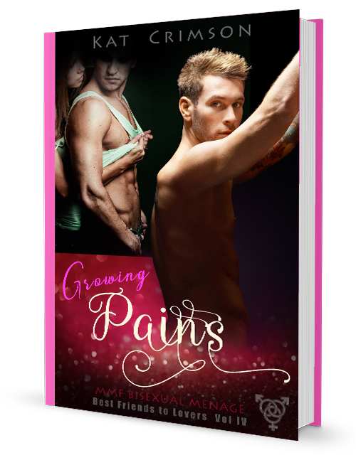 Growing Pains, by Kat Crimson (Best Friends to Lovers, Volume 4)