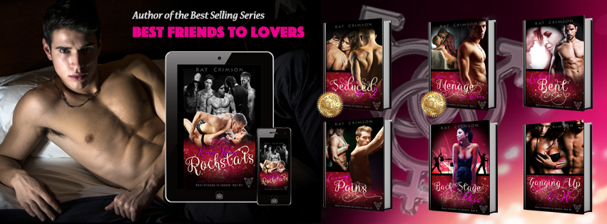 Best Friends to Lovers Romance Series, MMF Menage, Reverse Harem Menage
