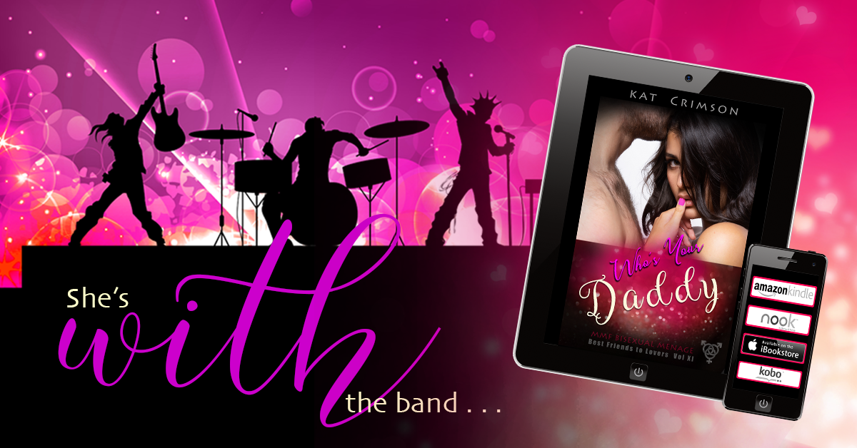 Cover Reveal + Sneak Preview: WHO'S YOUR DADDY